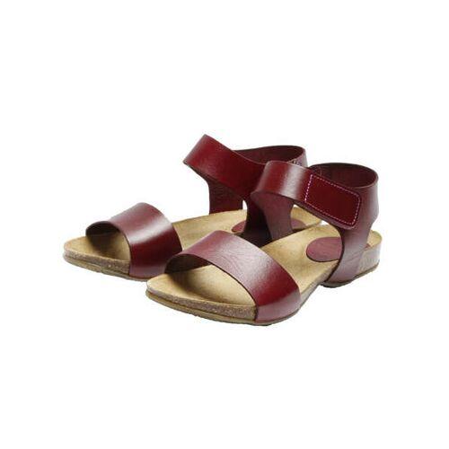 "Grand Step Shoes Sandale ""Clara"" bordo (weinrot) 41"