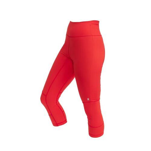 MONTREET Rizinus Legging*3/4 I Unisex rot S