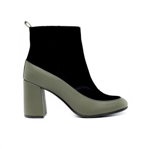 Nae Vegan Shoes Nae Paula - Vegane Damen Stiefel grün 38