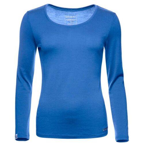 Kaipara - Merino Sportswear Kaipara Merino Shirt Langarm Slimfit 200 royal L