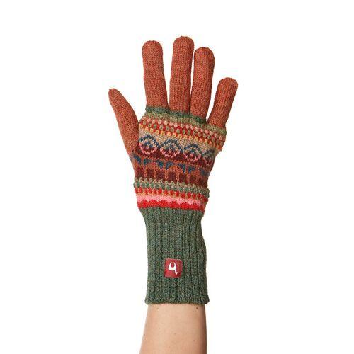 Apu Kuntur 100% Alpaka-handschuhe Aus Peru  M