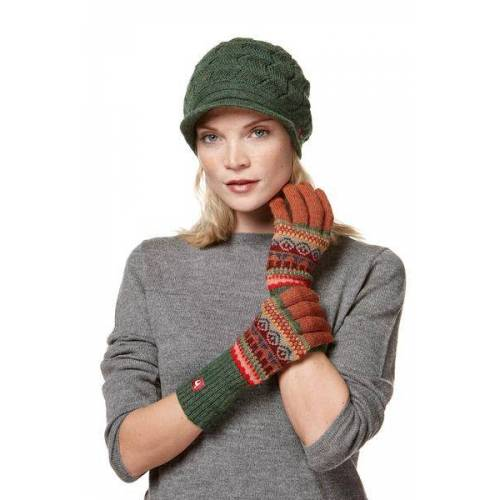 Apu Kuntur 100% Alpaka-handschuhe Aus Peru  L