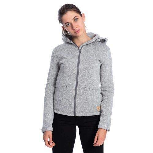 Bleed Polartec® Fleecejacke Damen Grau grau XS