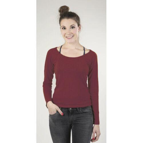 Uprise Hanf Langarm-shirt Rot Von Uprise rot XL