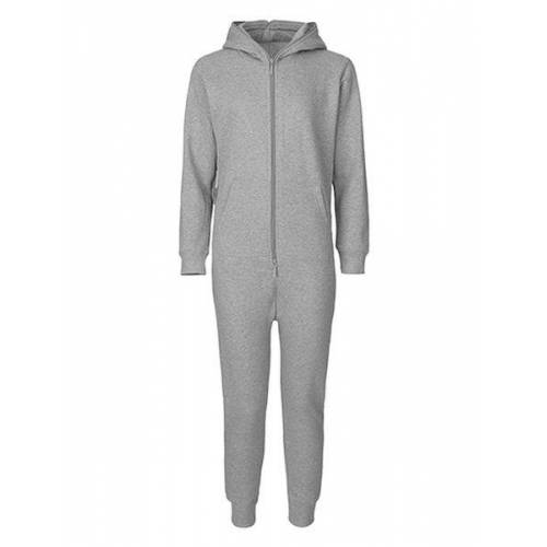Neutral Damen Herren Unisex Hausanzug Jumpsuit sports grey 3XL