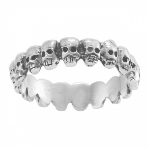 "pakilia Ring ""Mini Cráneos""  amerikanische ringgrösse 6"