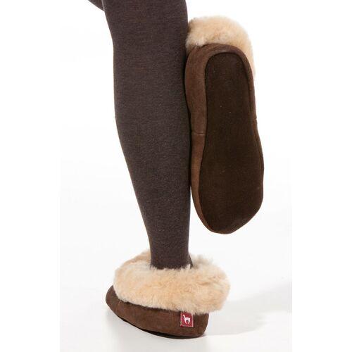 Apu Kuntur 100% Natur-hausschuhe Aus Alpaka Und Wolle beige 40