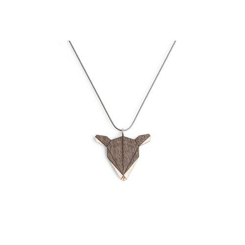 BeWooden Halskette Reh   Kette Mit Anhänger Aus Holz doe