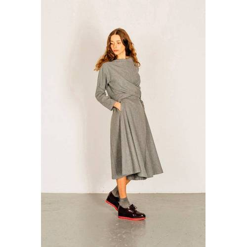 Suite 13 Hosenrock Aus Wolle - Thais Wool grey S