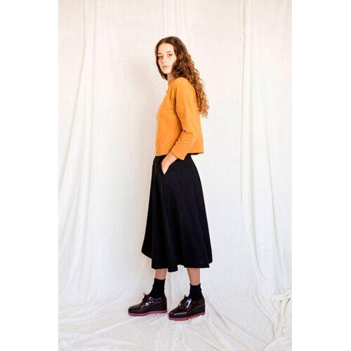 Suite 13 Hosenrock Aus Wolle - Thais Wool black S