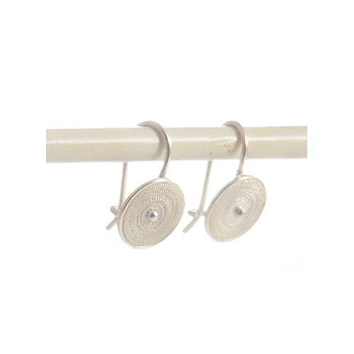 Filigrana Schmuck Ohrringe Spirale Silber silber