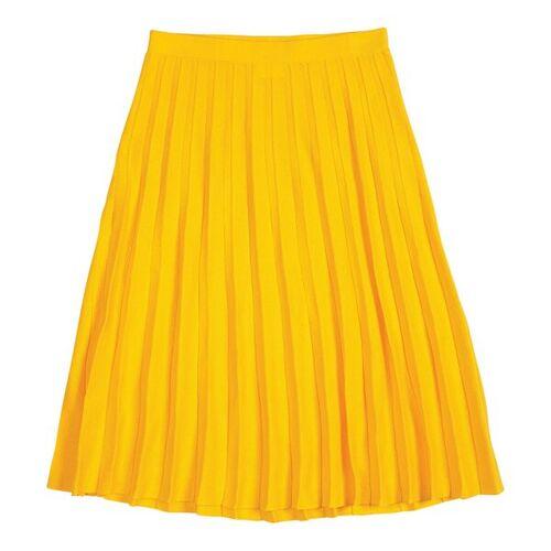 FUB Midi-faltenrock - Skirt gelb M