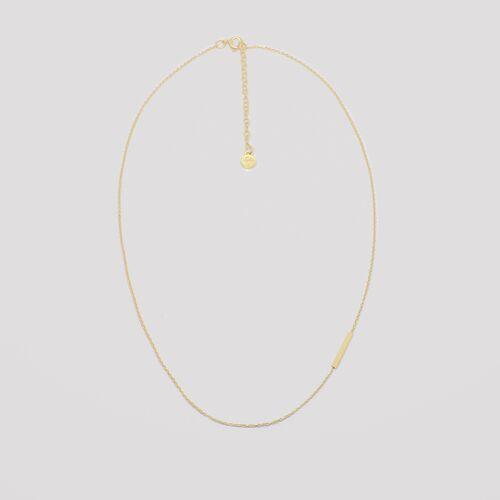 fejn jewelry Kette 'Bar' gold