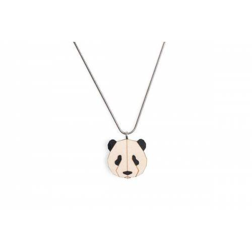 BeWooden Halskette Panda   Kette Mit Anhänger Aus Holz   Tier Motiv   Panda panda