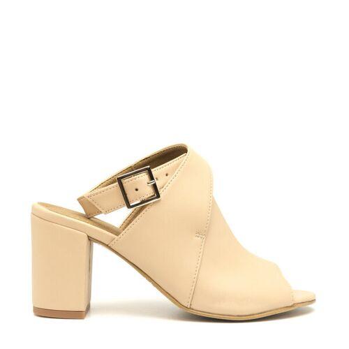 Nae Vegan Shoes Nae Atik   Veganer Peep- Toe- Schuh Für Damen nude 41