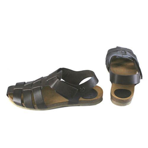 Jonnys Flache Sandale Im Klassischen Stil dunkelbraun 41