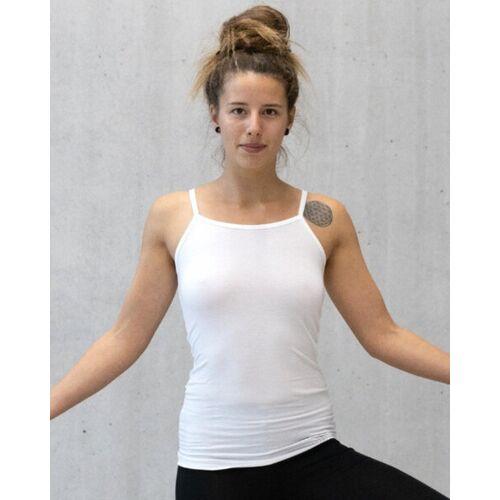 CORA happywear Nachhaltiges Top Amanda weiss XS