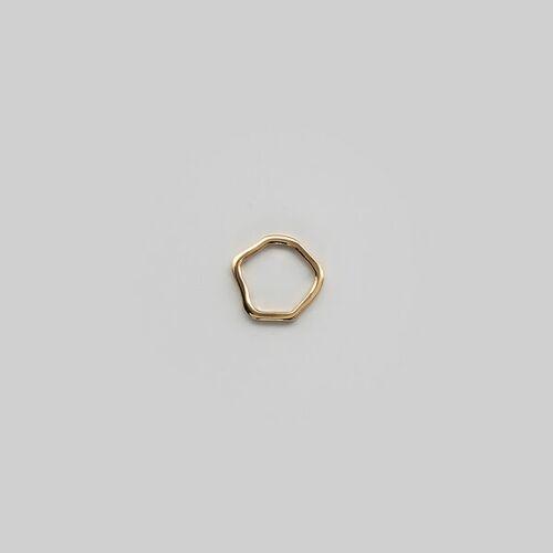 Goldmarlen Leda Ring - Glänzend gold L