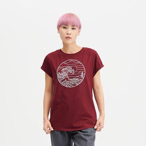 HAFENDIEB Waterkant T-shirt rot L