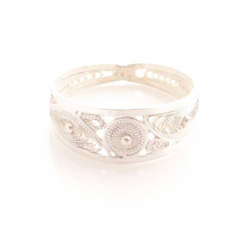 Filigrana Schmuck Ring Drei Ovale Silber silber ringmaß 59 (18,8 mm durchmesser innendurchmesser)
