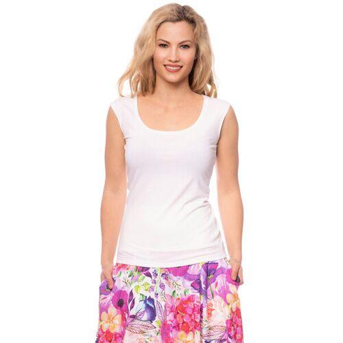 Ingoria Lulu Damen-wende-top In 3 Farben weiß XL