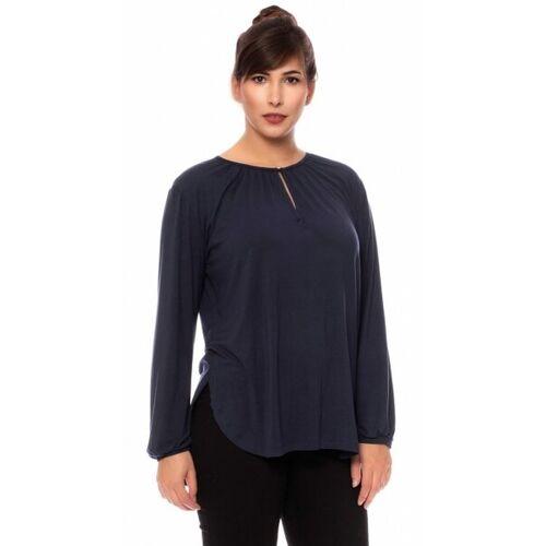 Ingoria Jette Blusenshirt Mit Einem Schlüssellochausschnitt  XL