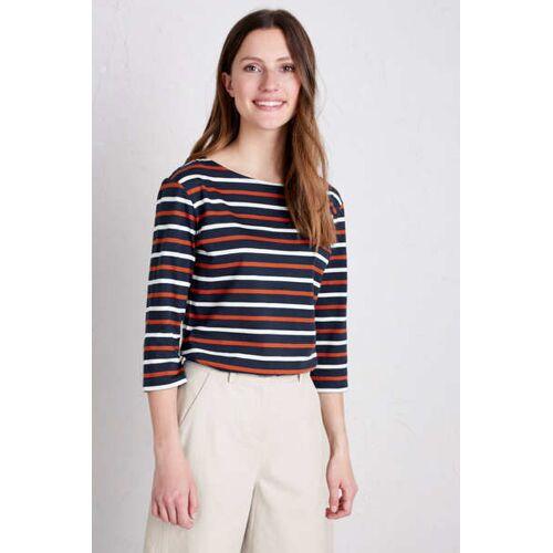 Seasalt Cornwall Shirt 3/4 Arm - Sailor Top blau (duet magpie cinnamon) 12 (40)