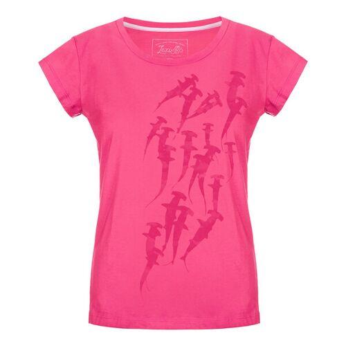 Lexi&Bö Hammerhead Swarm Damen T-shirt pink XS