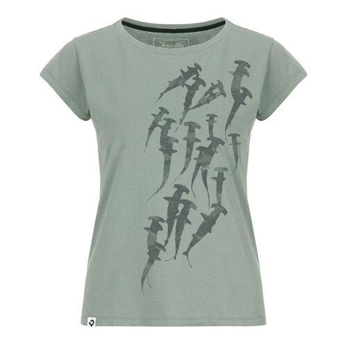 Lexi&Bö Hammerhead Swarm Damen T-shirt grau XXL