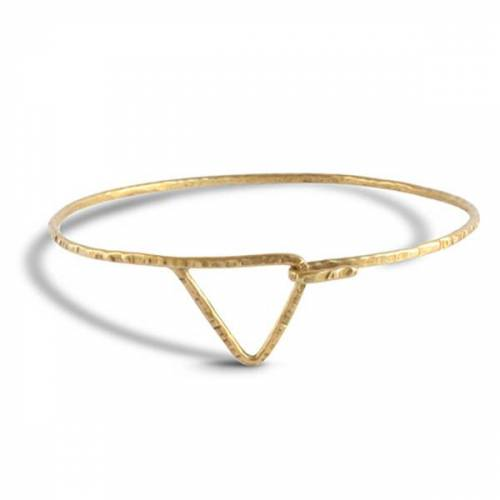 ting goods Armreif Triangle, Messing  S