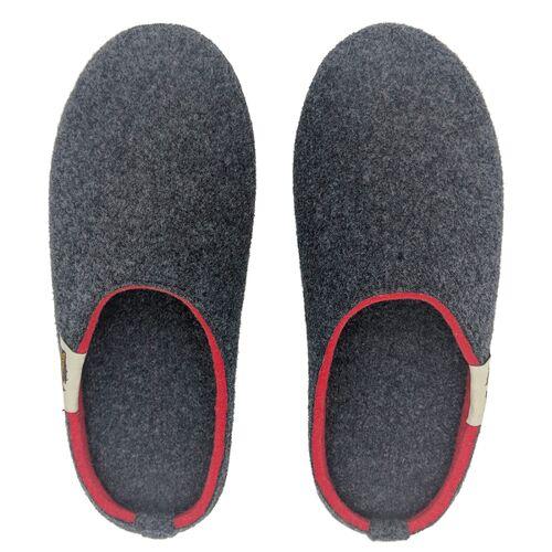 Gumbies Slipper - Nachhaltige Hausschuhe Für Damen Und Herren rot 45
