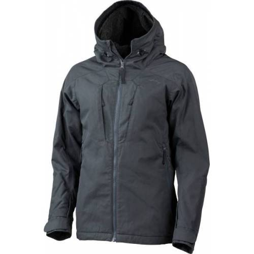 Lundhags Damen Winterjacke - Habe Pile Ws Jacket grau (charcoal) M