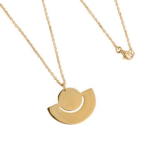 macimo Halskette Fenland Filigran, Vergoldet gold