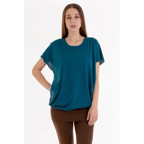 Ajna T-shirt Capucha petrol S
