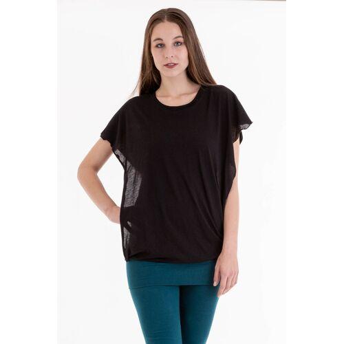 Ajna T-shirt Capucha schwarz M