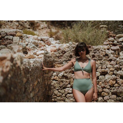 Anekdot Bikini Top Line green M