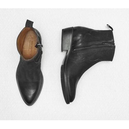 Ten Points Jessie Boots, Vegetabil Gegerbtes Leder, Westernboots  40
