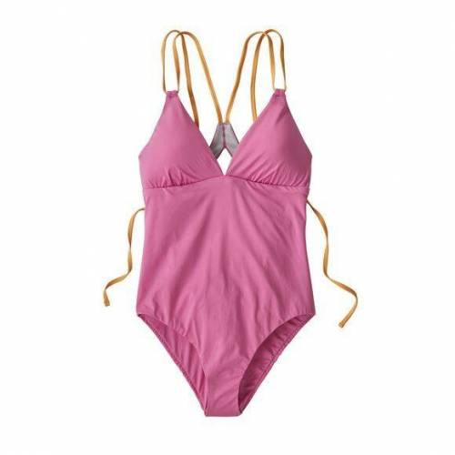 Patagonia Badeanzug - W's Nanogrip Sunset Swell One-piece Swimsuit pink (marble pink) XS