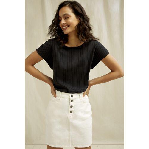 People Tree Jeans Rock - Tally Skirt beige (cream) 12 (m)