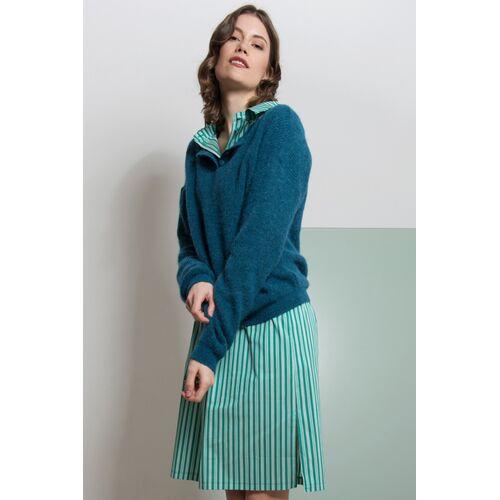 ME&MAY Pullover Elena Aus Alpakawolle blau xs(34)