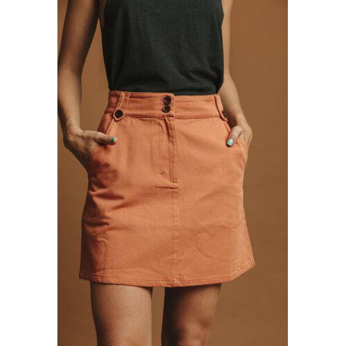 thinking mu Rock Damen - Marsha orange (teracotta) L