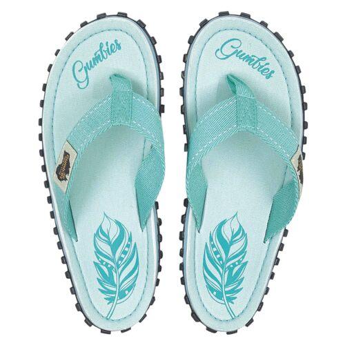 Gumbies Boho Mint - Nachhaltige Sommerschuhe Für Damen mint 37