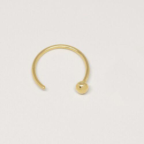 fejn jewelry Ear Cuff 'Ball' gold