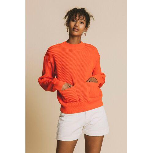 thinking mu Scarlet Faleme Knitted Sweater  L
