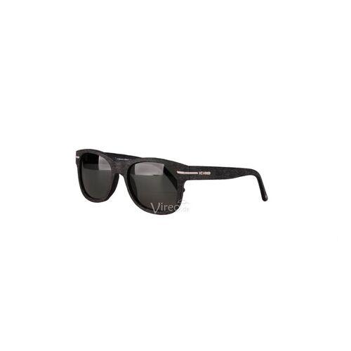 Wewood Sonnenbrille The Crux - Black - Aus Baumwollfaser black