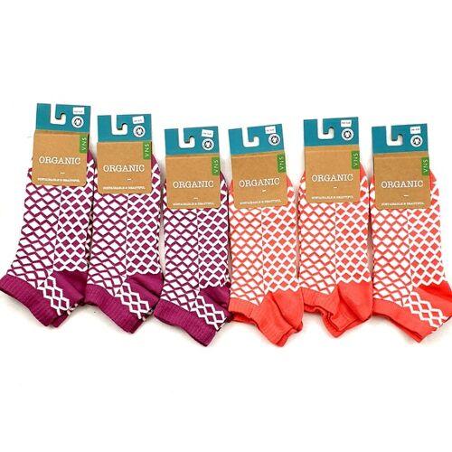 "VNS Organic Socks Gots Zertifizierte Organic-sneacker/socks ""6er ""Pack / Einheitsgröße"