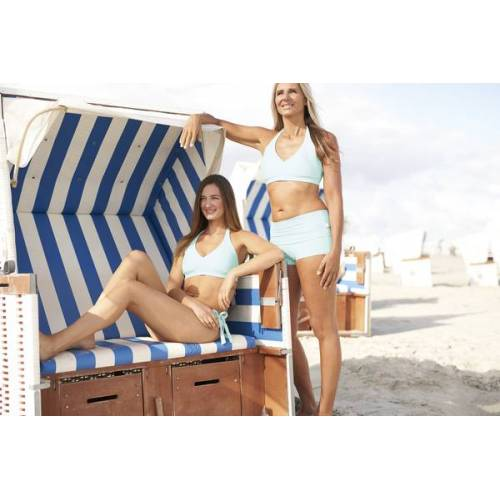 "IPANII - swimwear for brave souls Bikinihöschen ""Fun"" frozen (türkis) L"