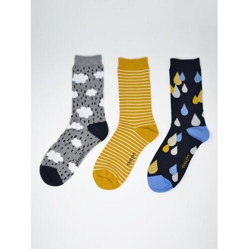 Thought l Braintree 3er Set Socken - Drizzle Sock Pack mehrfarbig (multi) 37-41