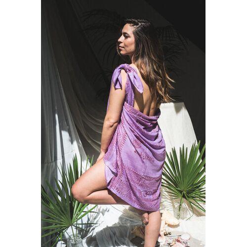 nandi Pareo Wickeltuch lila (lavendel)