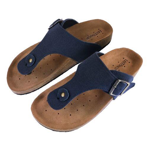 Les Tôngs Les Tongs Zimtlatschen Blue Jeans blue 37